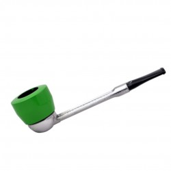 FALCON green pipe: standard straight stem with dover bowl
