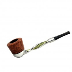 FALCON pipe: twisted yellow stem with algiers bowl