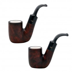 ORANGE oom paul pipe