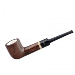 AMBASSADOR straight lovat meerschaum lined pipe