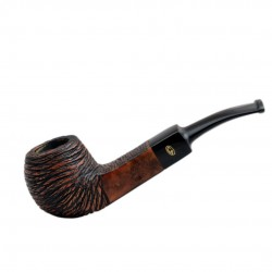 RUSTIC MARRONE bent apple pipe