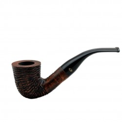 RUSTIC MARRONE bent dublin pipe