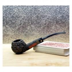 DARNELL OLD BRIAR bent apple vintage pipe