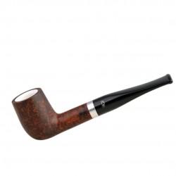 ORANGE billiard briar pipe