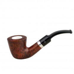 ORANGE bent dublin pipe