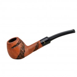 JOLLY carved orange pipe