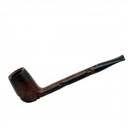 JOLLY briar carved billiard brown tobacco smoking pipe from Gasparini (Italy)