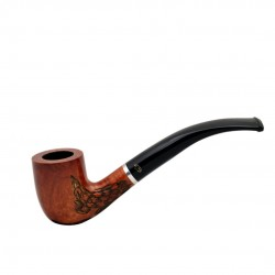 LADY lightweight carved billiard pipe