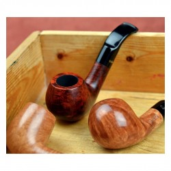 MIGNON bent brandy mini pipe