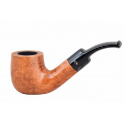 MIGNON petite briar pocket size bent billiard tobacco smoking pipe from Gasparini (Italy)