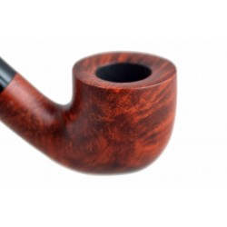MIGNON petite briar pocket size bent pot tobacco smoking pipe from Gasparini (Italy)
