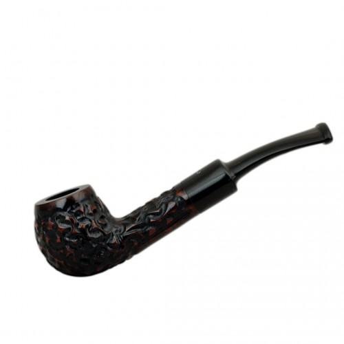 MAXIM DOMINO brown shiny mini pipe
