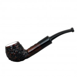 MAXIM DOMINO meerschaum lined pocket size pipe