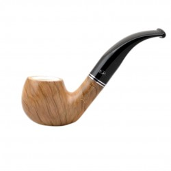 ULIVO olive tree egg bent meerschaum lined tobacco smoking pipe from Gasparini..