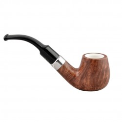 KENT long black brandy pipe with two stems