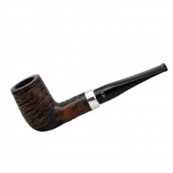 KENT RUSTIC Briar straight billiard rustic tobacco smoking pipe from Gasparini (Italy)