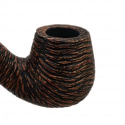 KENT RUSTIC bent brandy rustic pipe