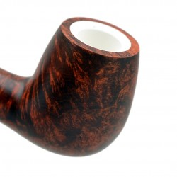 ORANGE bent billiard pipe