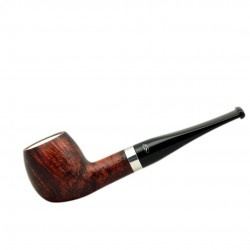 ORANGE apple briar pipe
