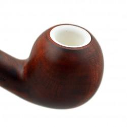 ORANGE tomato briar pipe