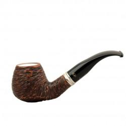 VEGA meerschaum lined bent brandy pipe