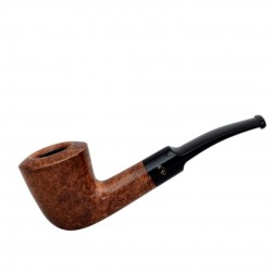 WALNUT bent dublin pipe