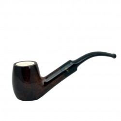 BENHUR bent meerschaum lined pipe