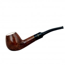Brown brandy meerschaum lined pipe