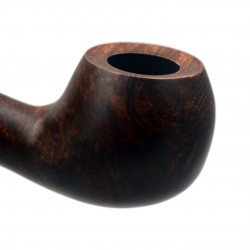 BRISTOL briar apple dark brown tobacco smoking pipe from Gasparini (Italy)