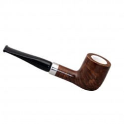 KENT briar brown long tobacco smoking pipe from Gasparini (Italy)