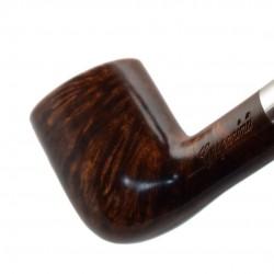 KENT briar brown long tobacco smoking pipe from Gasparini (Italy)