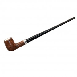 KENT briar long billiard tobacco smoking pipe from Gasparini (Italy)