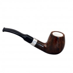 KENT briar long brandy tobacco smoking pipe from Gasparini (Italy)