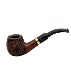 RUSTIC MARRONE bent apple pipe