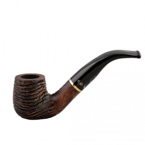 RUSTIC MARRONE bent billiard rustic pipe