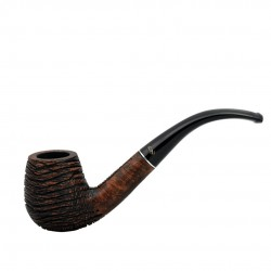 RUSTIC MARRONE bent billiard pipe