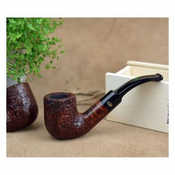 SABBIATE MARRONE bent billiard pipe