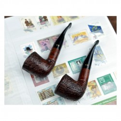 SABBIATE MARRONE bent dublin pipe