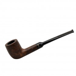 SALINA briar smooth tobacco smoking pipe from Gasparini (Italy)