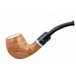 ULIVO olive tree bent egg meerschaum lined tobacco smoking pipe from Gasparini..