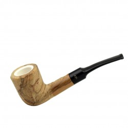 ULIVO curved meerschaum lined pipe