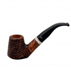 VEGA (rustic) bent brandy pipe