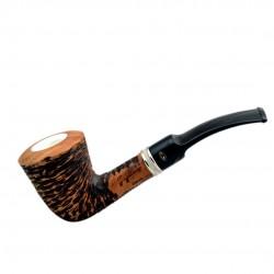 VEGA bent dublin meerschaum lined pipe