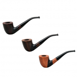 #45 bent pearwood pipe from Golden Pipe (Poland)