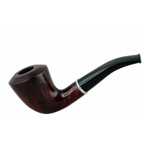 #75 Briar dublin smooth red tobacco smoking pipe from Golden Pipe (Poland)