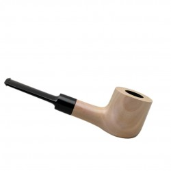 #64 straight pearwood tobacco smoking pipe from Golden Pipe (Poland)