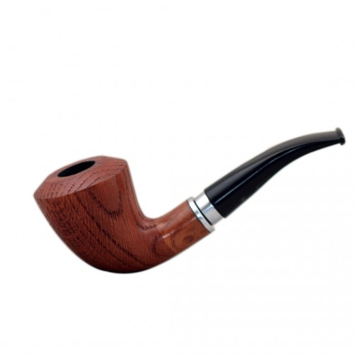 #21 orange oak tobacco smoking pipe from Golden Pipe (Poland)