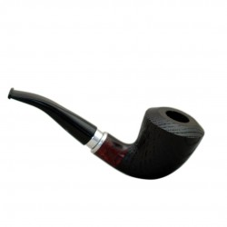 #21 dark red oak tobacco smoking pipe from Golden Pipe (Poland)