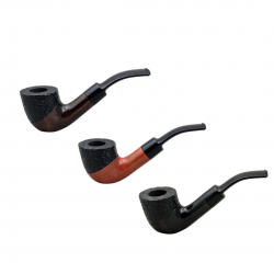 #41 bent pearwood pipe from Golden Pipe (Poland)