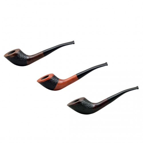 #57 zulu pearwood tobacco smoking pipe from Golden Pipe (Poland)